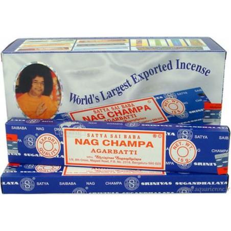 Encens Nag Champa Satya traditionnel (15g)