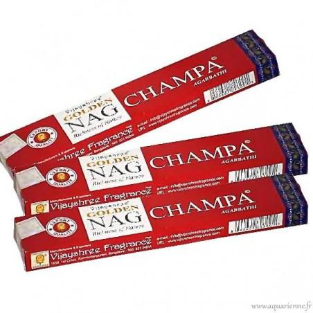 Encens Golden Nag Champa 15g