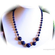 Collier Lapis-Lazuli BluePower