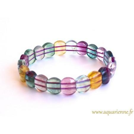 Bracelet Fluorite Multicolore