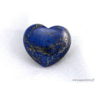 Coeur en Lapis-Lazuli