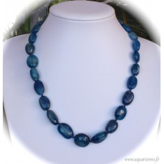 Collier Aventurine bleue