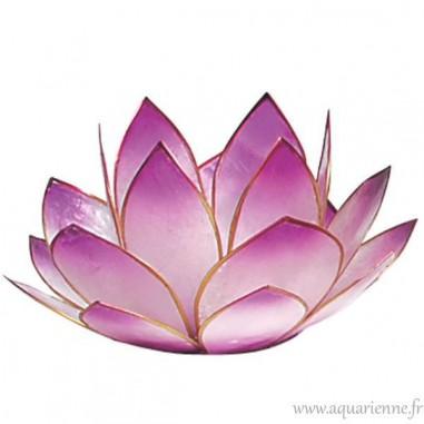 Bougeoir Photophore fleur de lotus