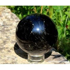 Sphère Tourmaline noire