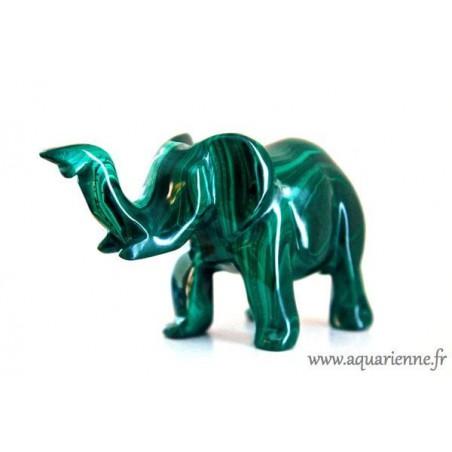 Eléphant Malachite