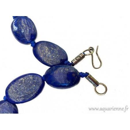 """Collier Lapis Lazuli Afghan """"Céleste"""""""