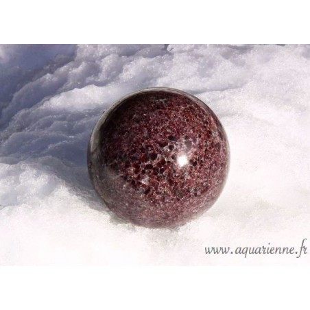 Sphère Grenatite 75mm