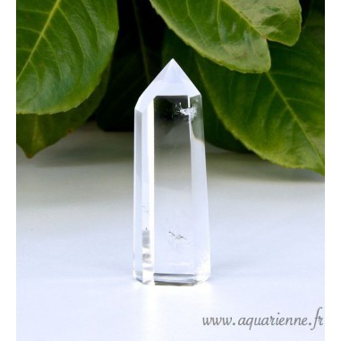 Cristal de Roche pointe fine