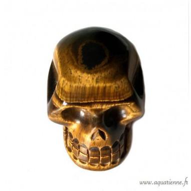 Crâne Œil de Tigre