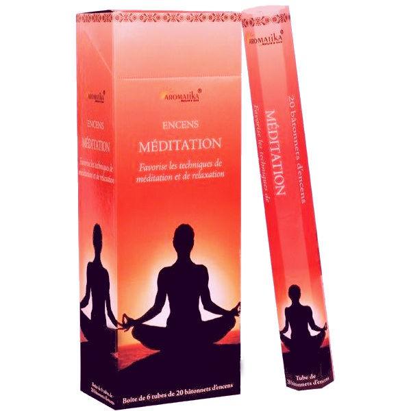 Encens Méditation Aromatika Hexa 20g