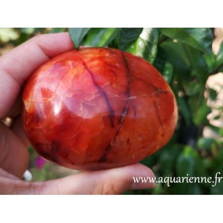 Cornaline de Madagascar galet