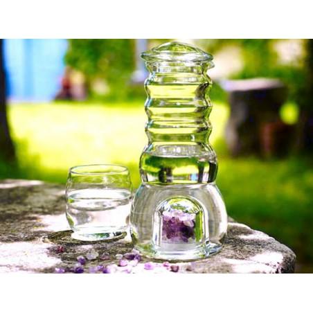 """Carafe énergisante avec cristaux """"Cadus"""" by Nature's Design"""