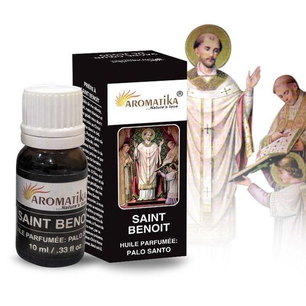 Huile parfumée Saint Benoît pour diffuseur ou brûle parfum