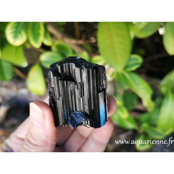 Tourmaline noire de Madagascar - Bloc brut de 85g