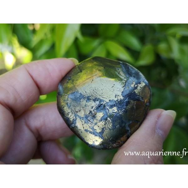 Chalcopyrite du Pérou - Galet 60g