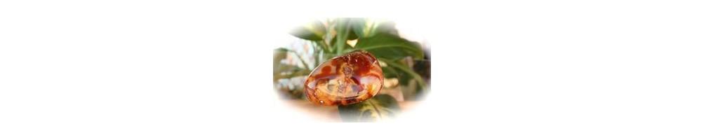 Galets de Cornaline, pierre naturelle sur Aquarienne.fr, boutique en ligne de minéraux du monde