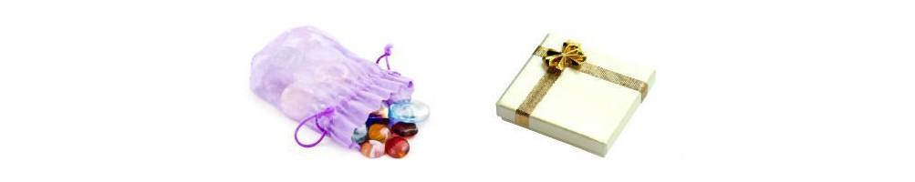 Pochettes, boîtes cadeaux, pour ranger ou offrir sur Aquarienne.fr