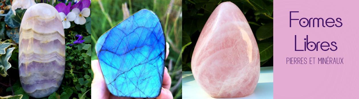 Minéraux de formes libres